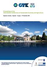 The Proceedings of the International Conference on Sustainable Economy and Agriculture (2019)